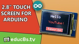 """Arduino Tutorial: 2.8"""" TFT LCD Touch Screen ILI9325 with Arduino Uno and Mega from Banggood.com"""