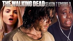 """Fans React To The Walking Dead Season 7 Episode 3: """"The Cell"""""""