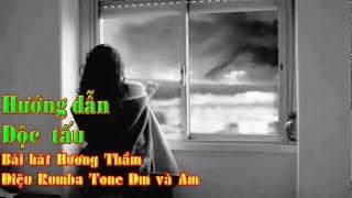 Hướng đẫn độc tấu bài hát HƯƠNG THẦM Tone Dm và Am