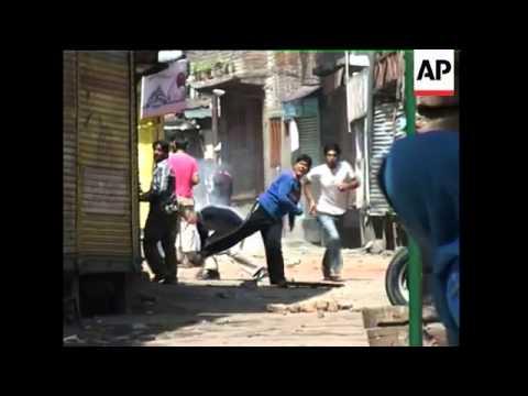 Kashmir - Hindu Shrine Protests / Clashes