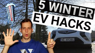 How to increase RAΝGE of EV - Winter hacks (2021)