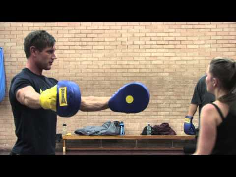 'Boxercise' class at Broadmeadow Sports Centre, Teignmouth