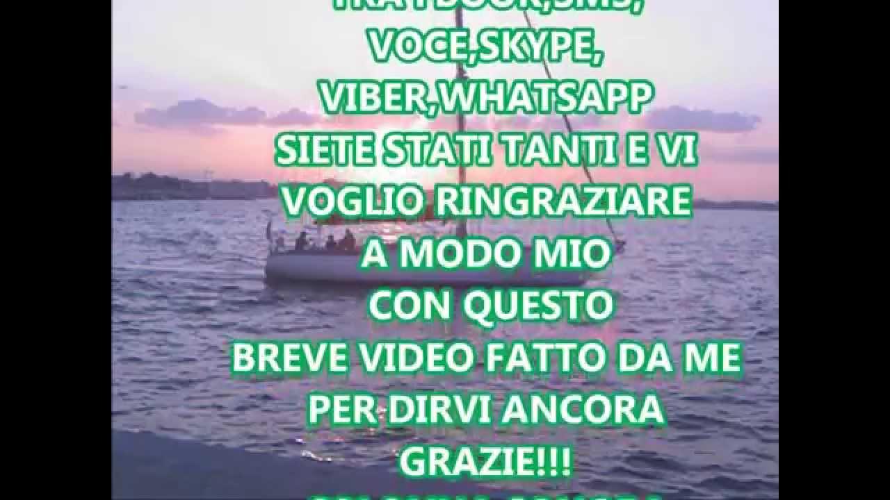 Top GRAZIE A TUTTI PER AUGURI DI BUON COMPLEANNO!! - YouTube XK09