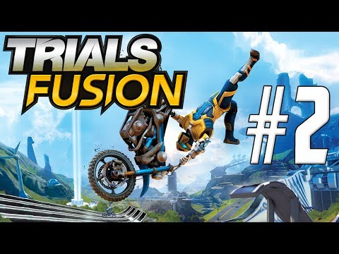 Let's Play Trials Fusion - Part 2 - WHEEL OF DEATH! w/ Hypercore Ripper