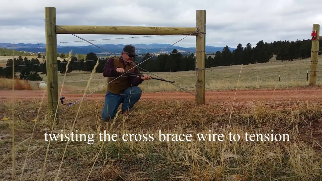 Fixing Fences Adding Cross Bracing To H Braces And