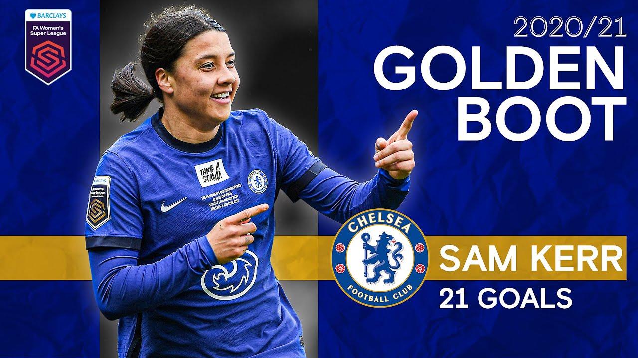 Sam Kerr's Golden Boot Winning Season | All 21 Goals | Women's Super League 2020/21