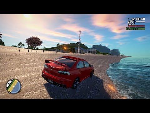 GTA San Andreas RAGDOLL Physics BEST Graphics Gameplay 60FPS