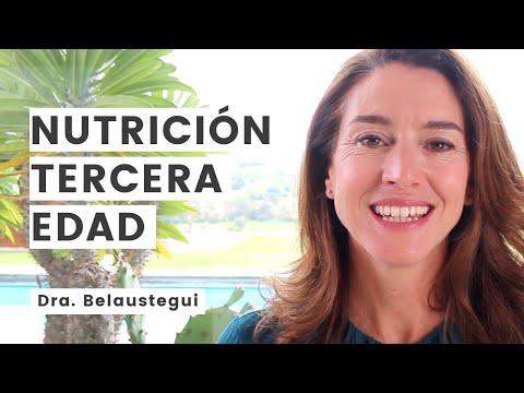 Alimentación y hábitos en la tercera edad. Dra. Isabel Belaustegui.