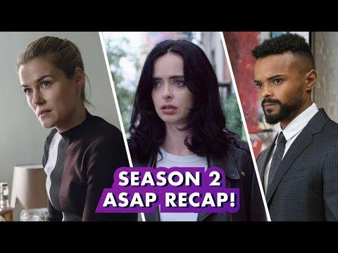 Marvel's Jessica Jones Season 2 in under 4 minutes! | Earth's Mightiest Show