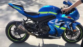 2017 Suzuki GSX-R1000 sound - Stock vs. Yoshimura Alpha T FULL SYSTEM