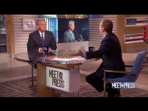 Kevin McCarthy Gives Chuck Todd A Government 101 Class