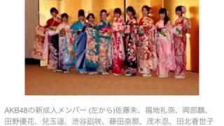 AKB新成人、松井珠理奈「今を引っ張っている世代」兒玉遥「花咲世代」 ...