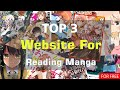 Top 3 Best Sites for Reading Manga 2020, For Free