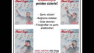 Ahmet Kaya Nota Kitaplığı Serisi 2.baskısı ÇIKTI!