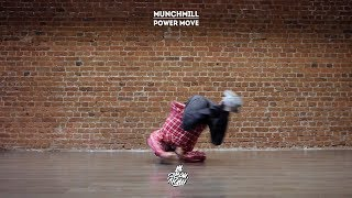"10. Munchmill (Power Move) | Видео уроки брейк данс от ""Своих Людей"""