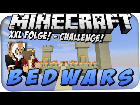 """XXL FOLGE!   """"SCHÖNER WOHNEN""""-CHALLENGE ★ Minecraft: BEDWARS   Liskario"""