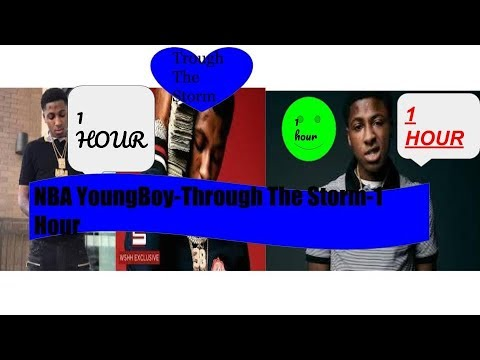 NBA YoungBoy - Through The Storm -1 hour MIX
