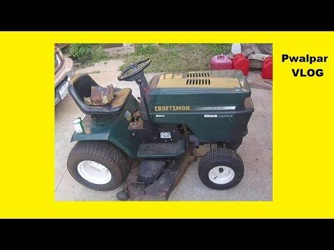 Sears Lawn Tractor Carburetor & Fuel system Repair