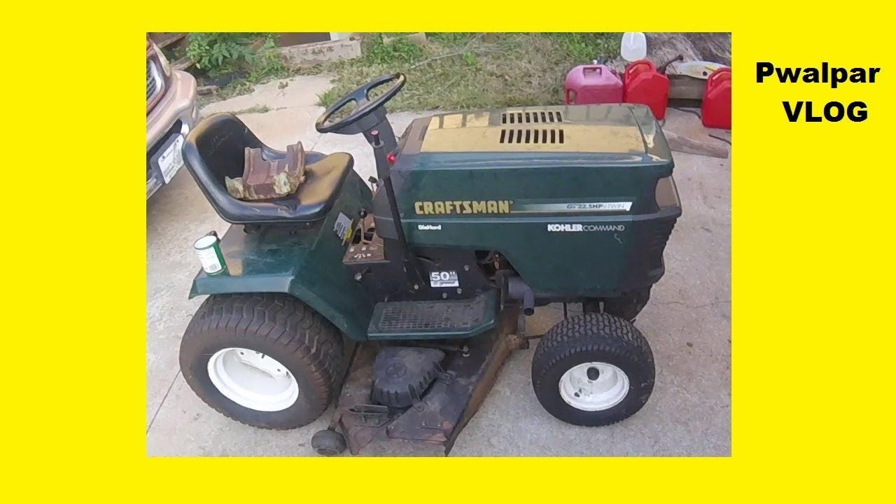 Sears Lawn Tractor Carburetor Fuel System Repair