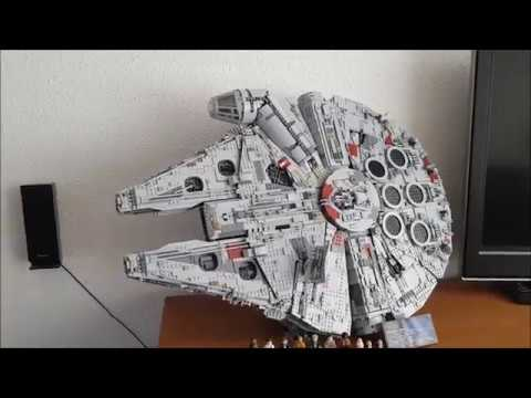 Vertical Stand for Lego 75192 Millennium Falcon - YouTube