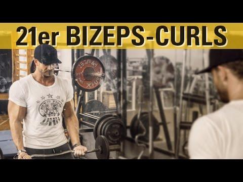 Bodybuilding Classics - 21er Bizeps Curls