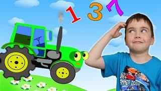 Gambar cover Вчимо цифри - Мультики українською мовою