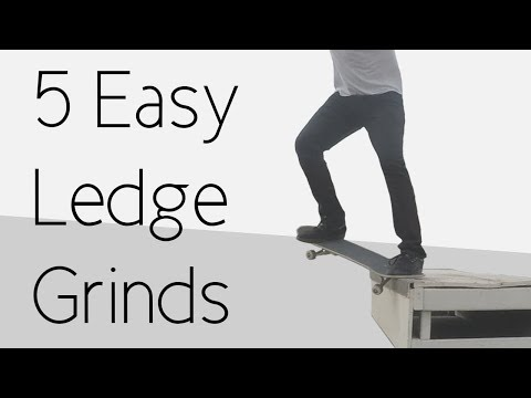 5 Easy Ledge Grinds