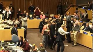 دبكة فلسطينية في الأمم المتحدة