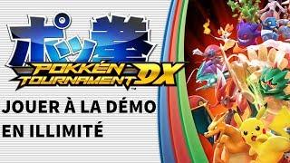 JOUER EN ILLIMITÉ À LA DÉMO DE POKKEN TOURNAMENT DX (Switch)