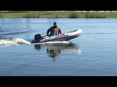 Надувная лодка Альтаир Сириус 315 +  Hidea 9.8