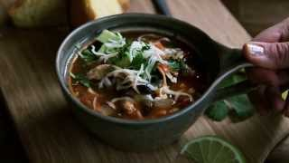 Soup Recipes - How To Make Southwestern Turkey Soup