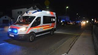 schwerer Verkehrsunfall auf der B175 in Ebbs