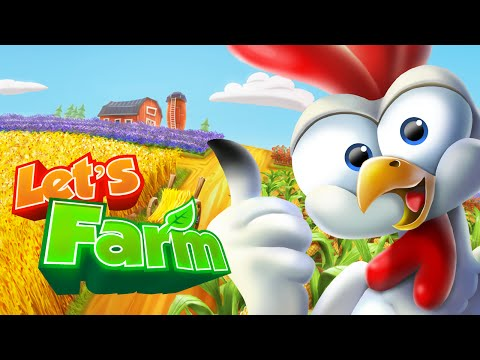 Let's Farm Game Trailer (Official)