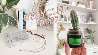 DIYing my Rubbish! Recycled Home Decor Ideas ✂️🚮