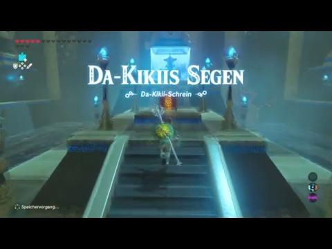 TLoZ: BotW - Schreinquest - Playthrough: Das Lied des Reckenfestes - Da Kikiis Segen | Schrein