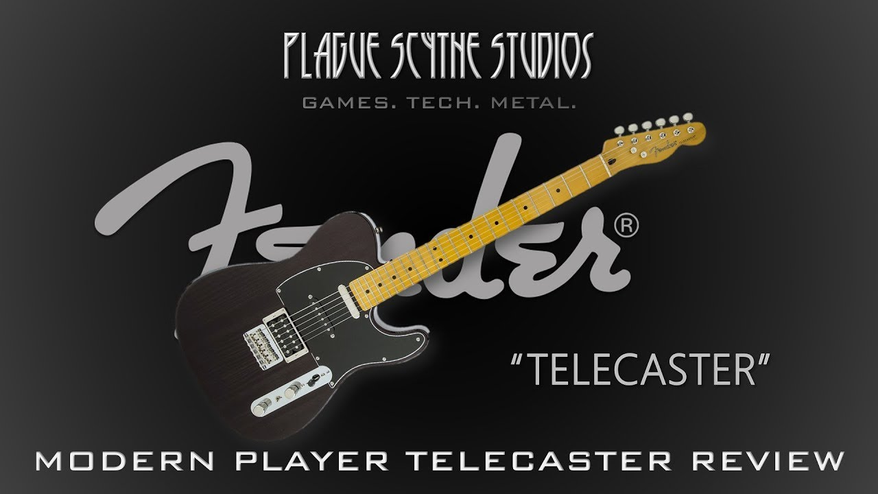 fender modern player telecaster plus review what i hate about tele 39 s fixed youtube. Black Bedroom Furniture Sets. Home Design Ideas