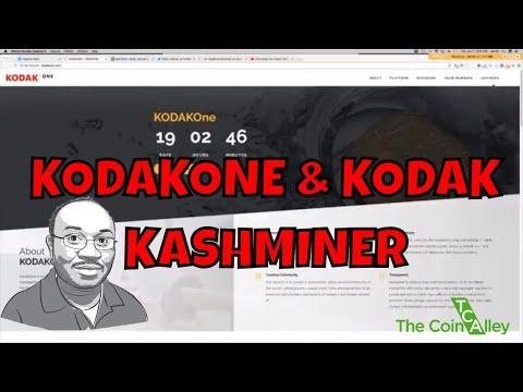 Kodak Announces It's Own Cryptocurrency  KodakOne + Kodak KashMiner Bitcoin Mining Rig