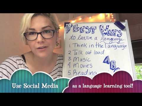 ESOL Teacher Tips: 10 Best Ways to Learn a Language!