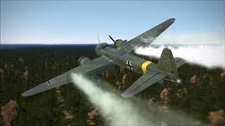 IL 2 and Rise of Flight Epic Mixed Crashes and Fails 4!