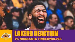 Lakers Reaction: AD Dominates with 50-Piece