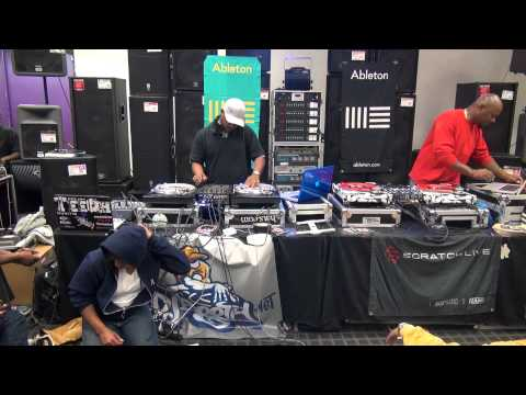 Dj Jeff C. Guitar Center 2013 Atlanta Spin Off Champion