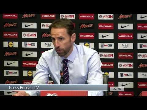 England vs Slovenia post Gareth Southgate 05 10 2017