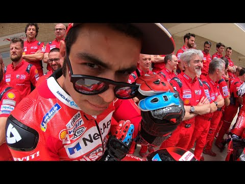 Relive the drama of Petrucci's first six races with GoPro™