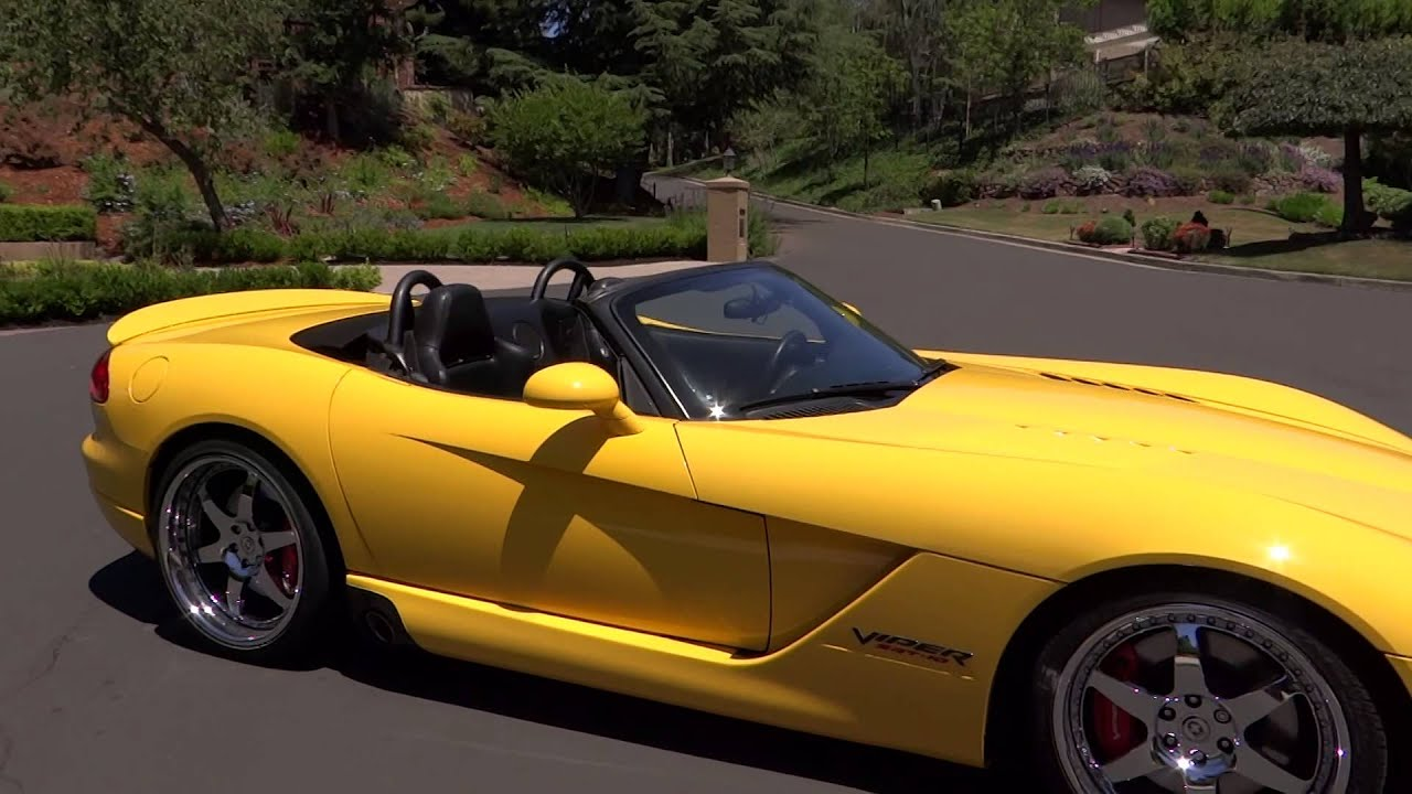2005 Dodge Viper Srt10 Paxton Supercharged Convertible By