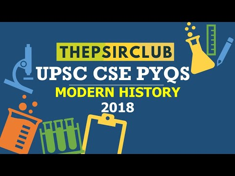 upsc-cse-prelims-|-previous-year-questions-|-modern-history-2018-|-the-psir-club-|-by-surabhi-pagar