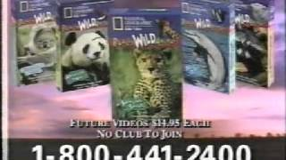 Cartoon Network   Paid Programming   National Geographic Swinging Safarai VHS 1995