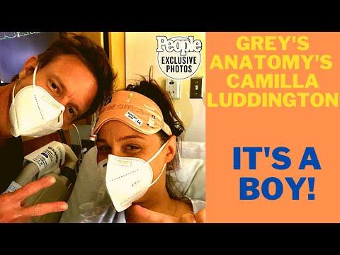 Grey's Anatomy star, Camilla Luddington welcomes second child