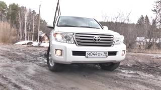Toyota Land Cruiser 200 тест драйв