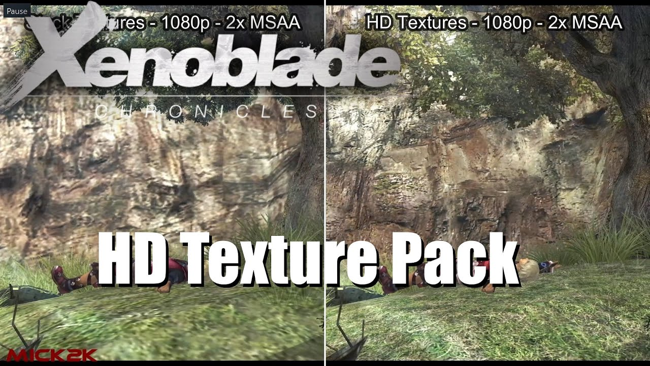 Xenoblade Chronicles HD Texture Pack (Dolphin Emulator)