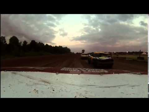 Expo Speedway @ the Trumbull County Fairgrounds Mini Stock races 7-9-2014